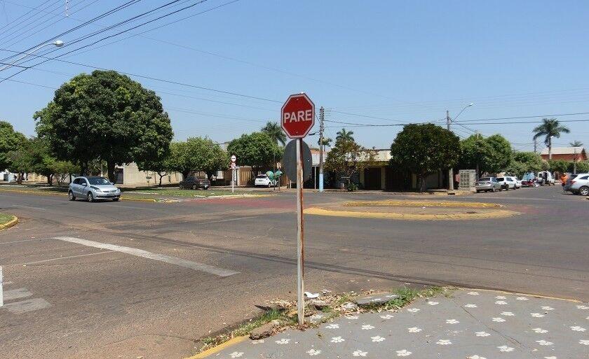 Ruas de Três Lagoas continuam sem placas de identificação