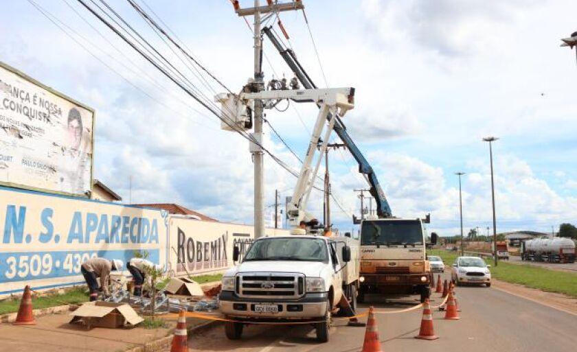 Comissão avalia os serviços prestados pela concessionária de energia elétrica da cidade
