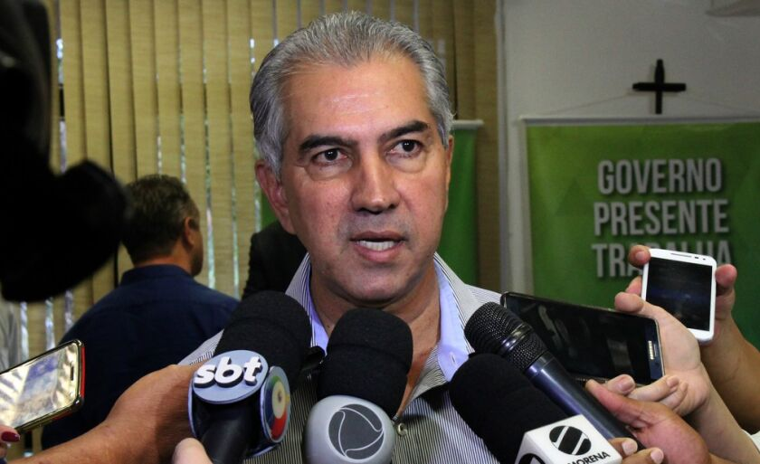 Reinaldo Azambuja (PSDB) é candidato à reeleição para governo de MS