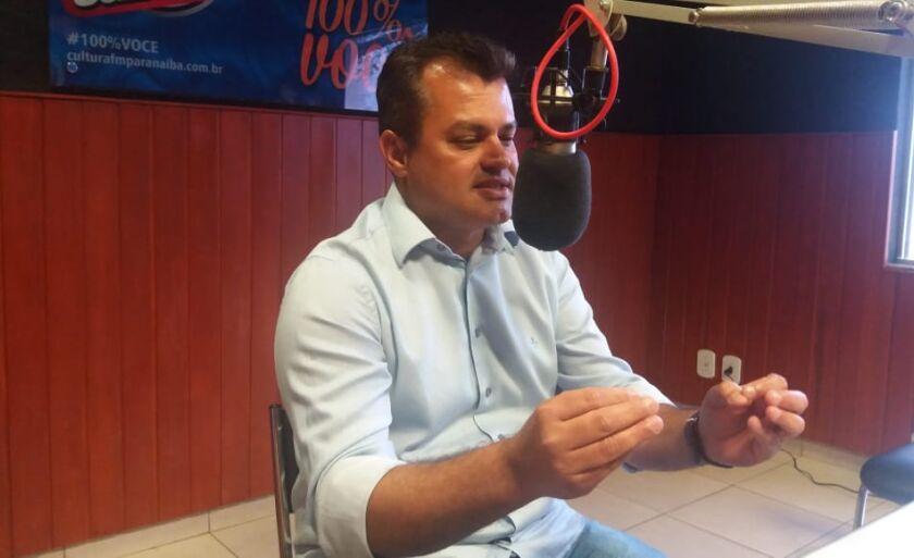 Cesinha Leal, vice-prefeito de Paranaíba e candidato a deputado federal em entrevista ao Jornal do Povo