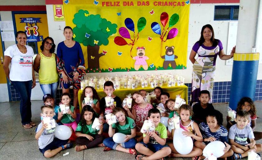 Festa foi realizada na sede da unidade escolar