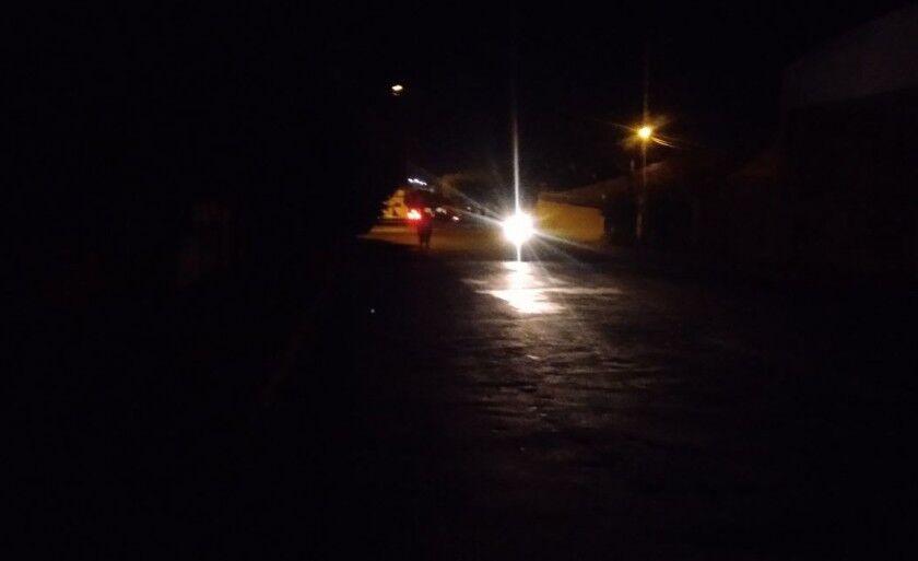 Na semana passada, uma interrupção por conta da chuva deixou a cidade cerca de três horas sem energia