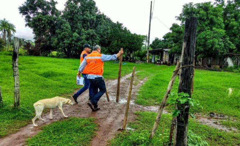 Equipe visitou moradores na quarta-feira (7) no pantanal corumbaense