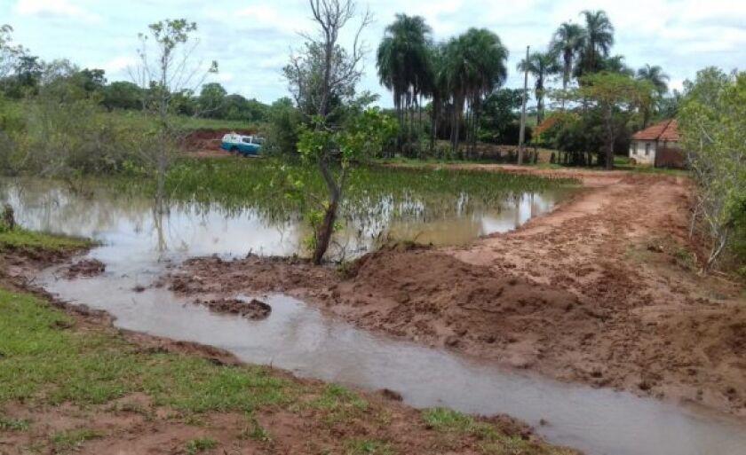 O caso ocorreu na zona rural do município na região do Córrego Fundo