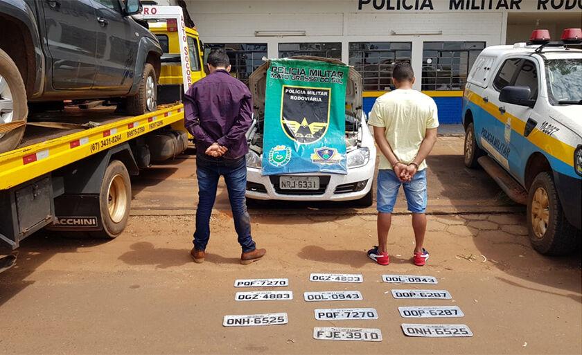 Infratores foram encaminhados para a Delegacia de Polícia Civil de Ponta Porã