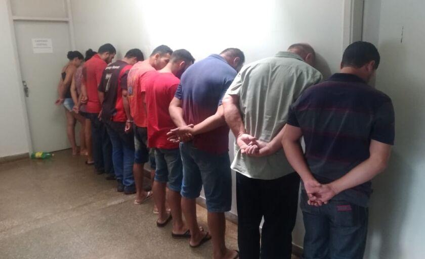 A Polícia Civil estima que mais de R$ 800 mil foram roubados pela quadrilha
