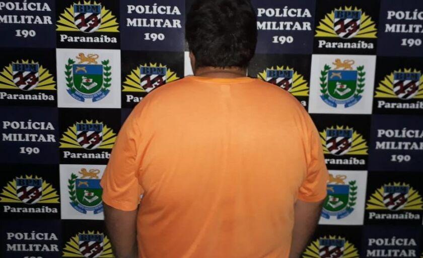 O agressor foi preso e levado para Delegacia de Polícia Civil