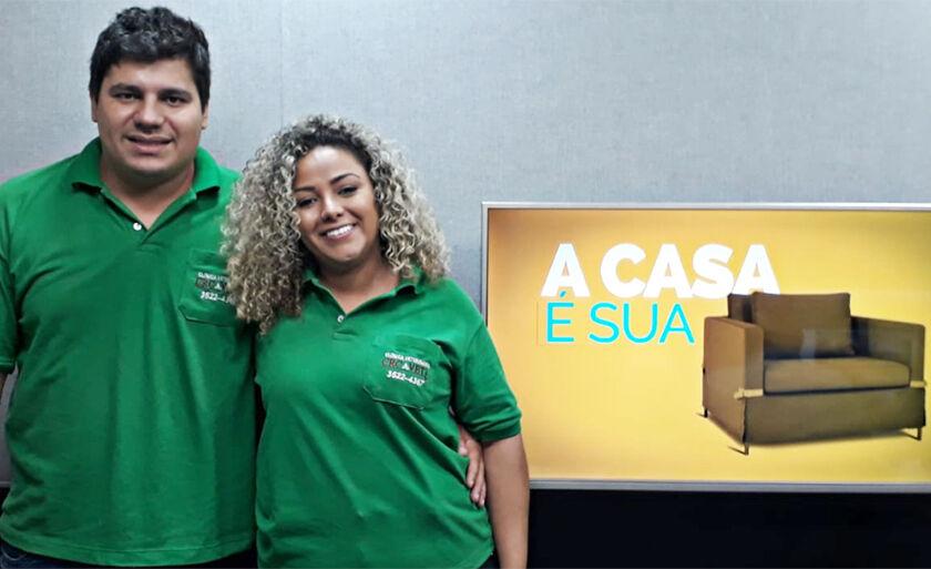 Marcos Sidraco e Jessica Souza - veterinários