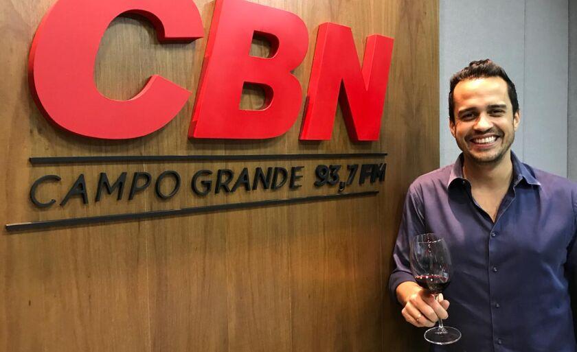 O colunista falou do sucesso da festa no CBN Campo Grande