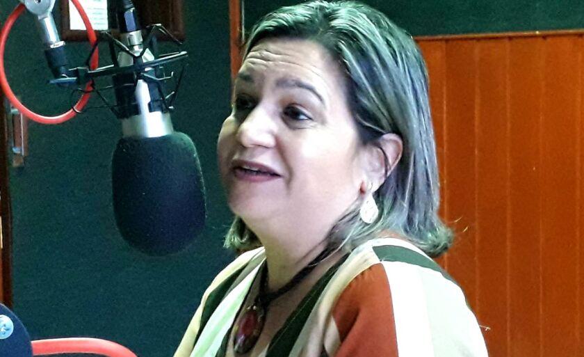 Patrícia Latife, superintendente dos Correios em Mato Grosso do Sul, que participou ao vivo do Jornal do Povo