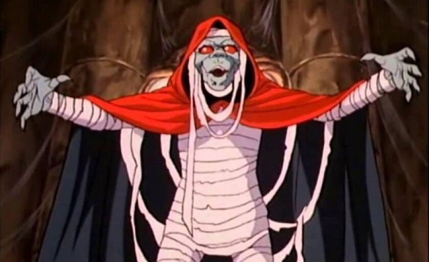 Como alguns políticos, Momm Rá, personagem do seriado animado Thundercats, só acordava em ocasições específicas