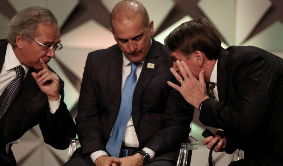 Paulo Gudes / Onyx Lorenzoni / Presidente Jair Bolsonaro