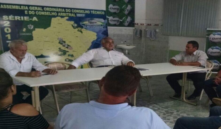 Dois clubes de Três Lagoas participaram da reunião: Misto e Comercial