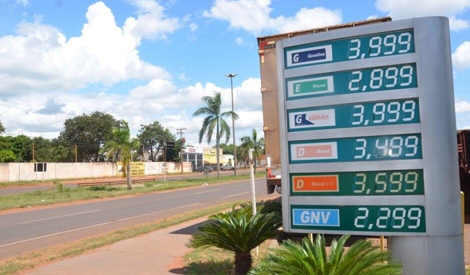 Abastecer com etanol em Três Lagoas, está cada vez mais dificil