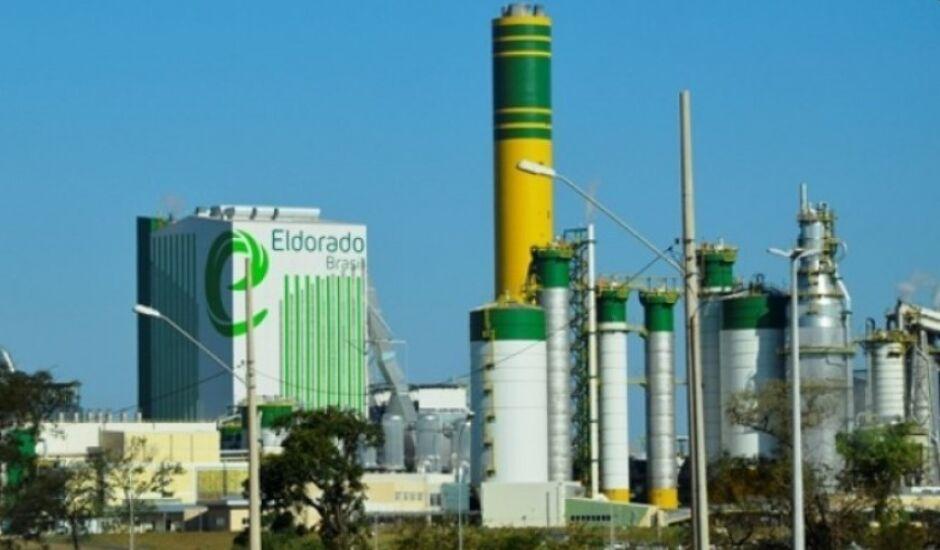 Fábrica de Três Lagoas tem capacidade para produzir 1,7 milhão de toneladas de celulose por ano
