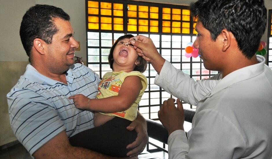 De acordo com a Secretaria de Saúde de Dourados 81% do público-alvo recebeu a vacina