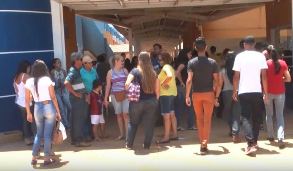 Em Mato Grosso do Sul, os portões abrem às 11h e fecham às 12h.