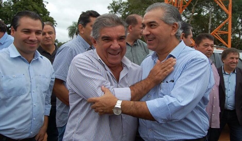 Candidato Reinaldo Azambuja (PSDB) está na liderança de votos