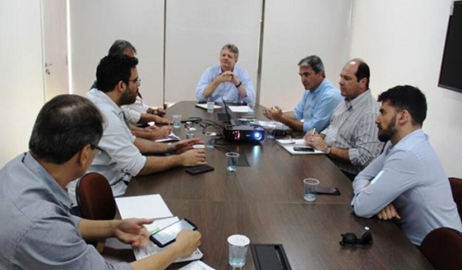 Na reunião foi criado um Comitê de Emergência