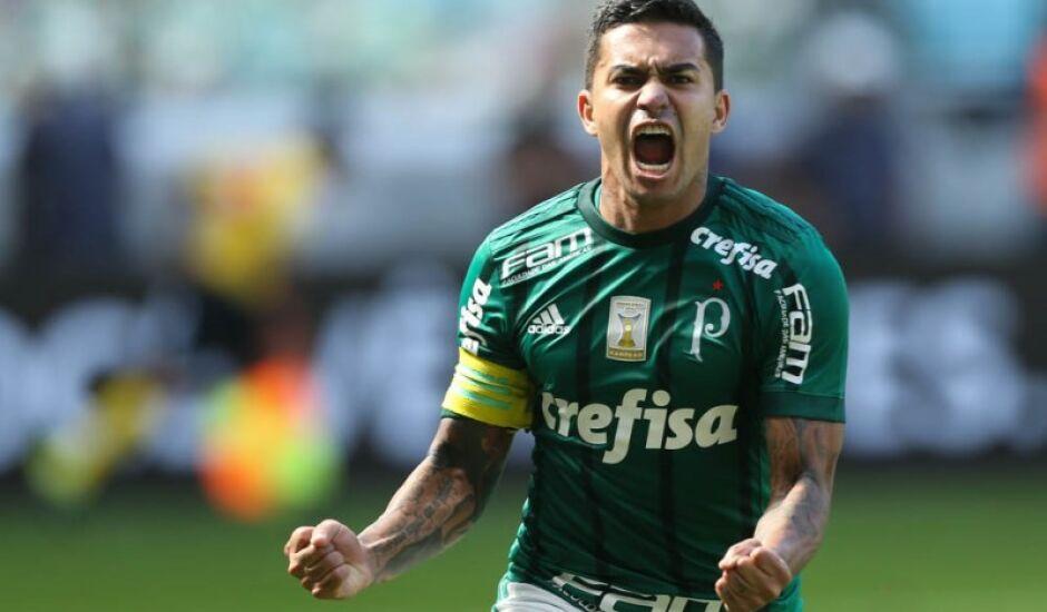 Dudu, um dos destaques do Palmeiras após a Copa do Mundo