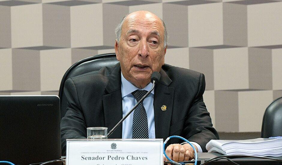 O Senador Pedro Chaves, PSC/MS, é o relator da matéria