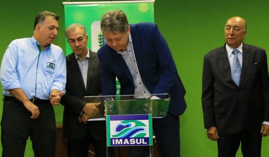 Decreto foi assinado pelo governador Reinaldo Azambuja e pelo secretário de Meio Ambiente, Jaime Verruck, no dia 8 de fevereiro.