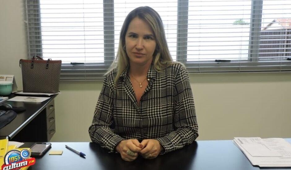 Jerusa Araújo, promotora de Justiça em Aparecida do Taboado