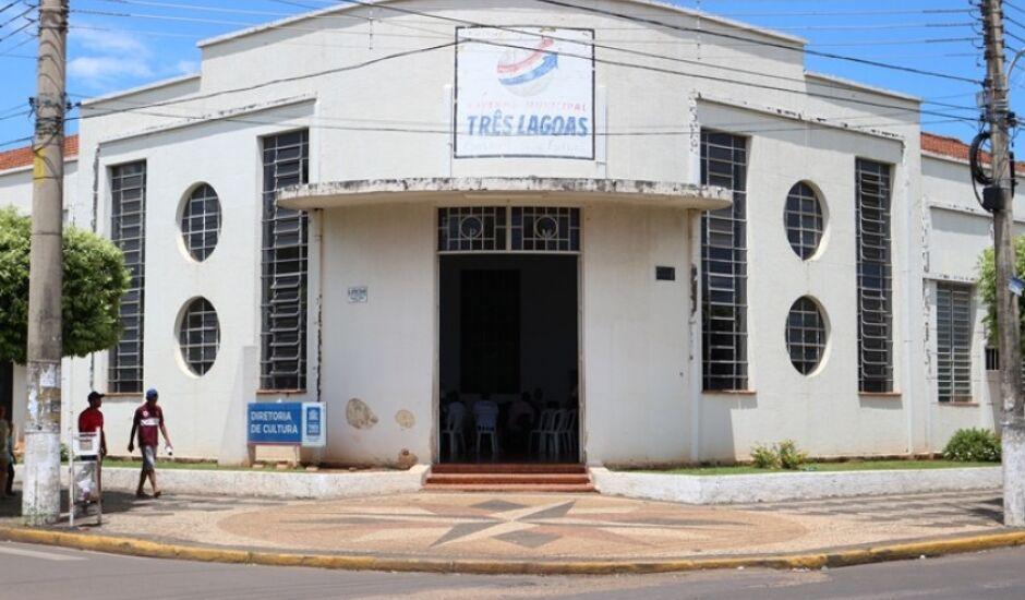 Departamento de Cultura fica na avenida Rosário Congro, Centro, em Três Lagoas.