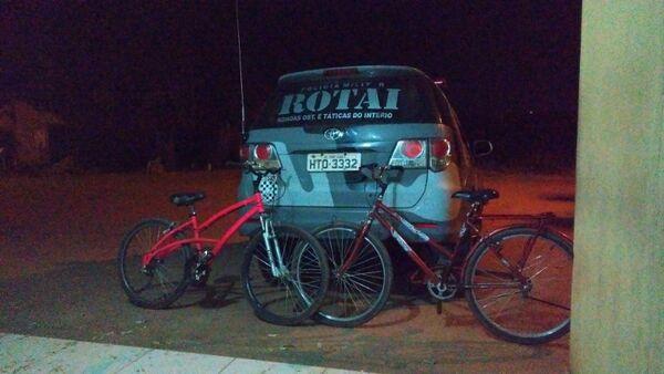 As bicicletas foram levadas a Depac
