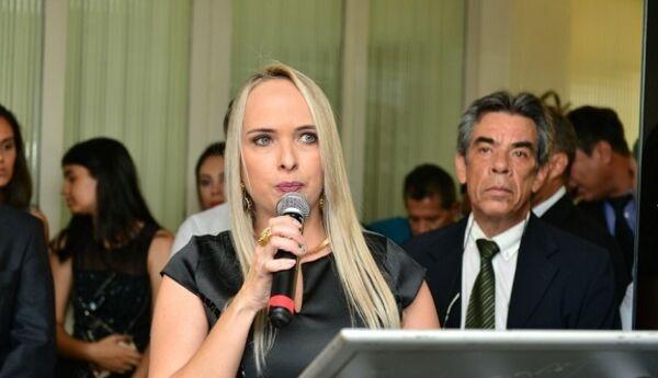 Renata Rios era titular da Secretaria de Governo