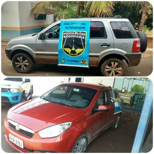 Os veículos furtados foram recuperados pela PMRE