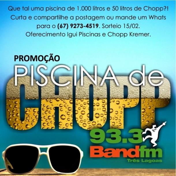 Band fm realiza promo o 39 piscina de chopp 39 saiba como for Piscina 7500 litros