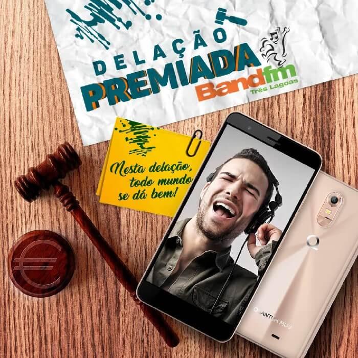 Promoção Delação Premiada Band FM